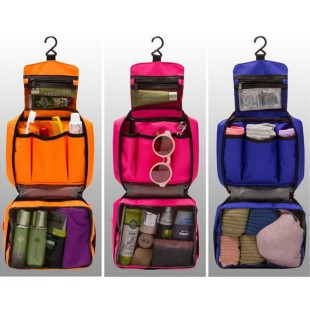 Folding Waterproof Hanging Toiletry Cosmetic Travel Wash Bag price in Pakistan