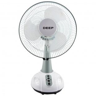 Blue Deep 14Inch Rechargeable Fan DP-1465 price in Pakistan