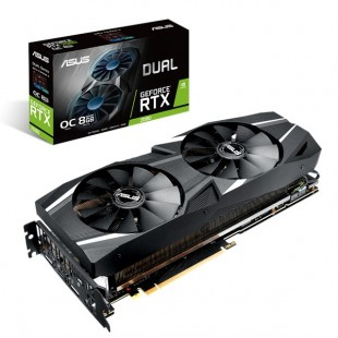 ASUS Dual GeForce RTX 2080 OC Graphics Card price in Pakistan