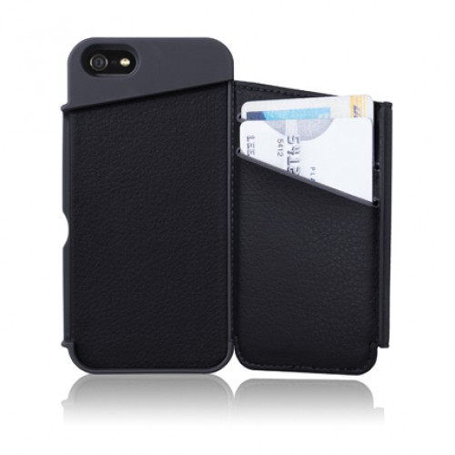 reputable site be7bb 84a23 Targus Wallet Case for iPhone 5 (Black) THD022AP