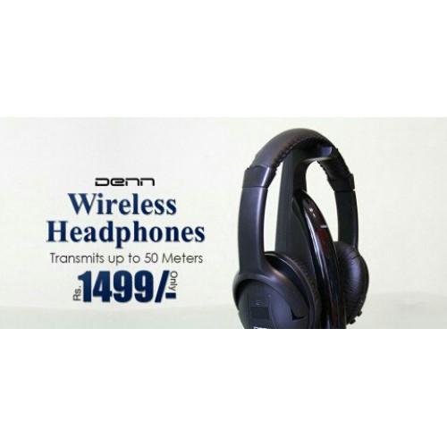 Wireless Connectivity Denn Wireless Tv Headphones Price In Pakistan