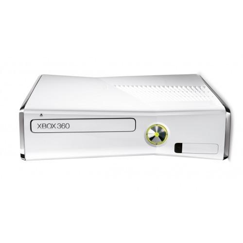 Xbox 360 Slim-4gb + Kinect Special Edition (White)