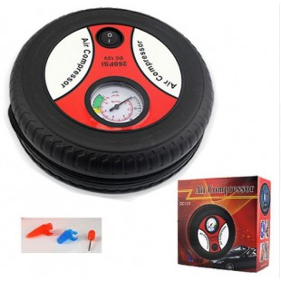 Portable Car inflatable pump Electric 260PSI DC12V Mini Tyre price in Pakistan