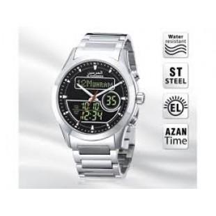 AL HARMEEN AZAN WATCH HA-6101 SB price in Pakistan