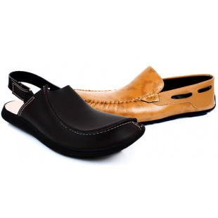 Fitfoot Loafer & Sandal Bundle price in Pakistan