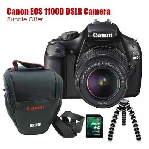 Canon EOS 1100D DSLR Camera Bundle Offer price in Pakistan