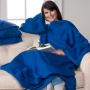 Snuggie Fleece Blanket Blue