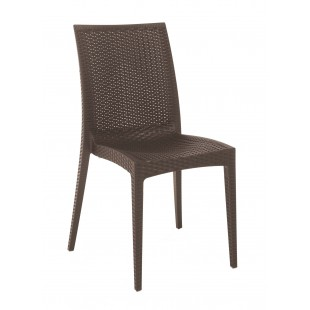 CHAIR RATTAN BISTROT BROWN (S6380BR)  price in Pakistan