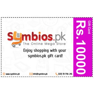 Symbios Gift Card Rs.10000 price in Pakistan