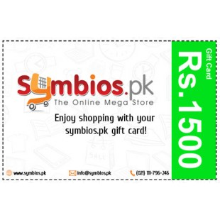 Symbios Gift Card Rs.1500 price in Pakistan