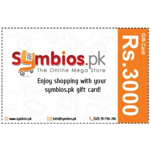 Symbios Gift Card Rs.3000 price in Pakistan