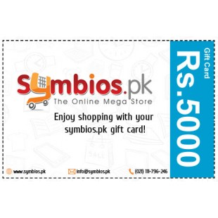 Symbios Gift Card Rs.5000 price in Pakistan