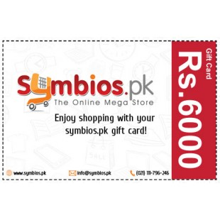Symbios Gift Card Rs.6000 price in Pakistan