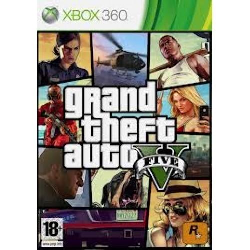 Grand Theft Auto V - PAL - Xbox 360 Game