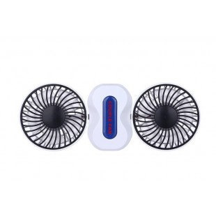 Mini USB 2 Motor Couples Adjustable Air Conditioning Fan price in Pakistan