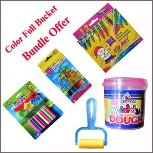 Color Full Bucket  Bundle Offer price in Pakistan