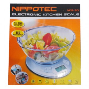 Nippotec Electronic Kitchen Scale NKS-301 price in Pakistan