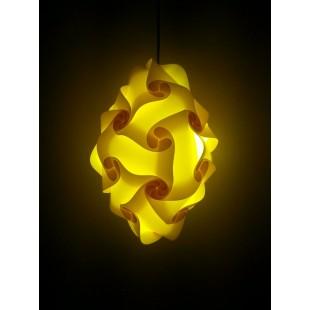 Diamond Jigsaw Lamp in  Yellow Color price in Pakistan