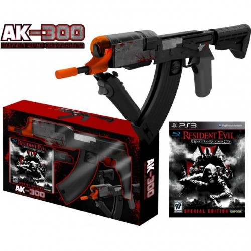 AK-300 Battle Rifle PS3 Move Controller - for all PLAYSTATION 3 Games and  FPS Games