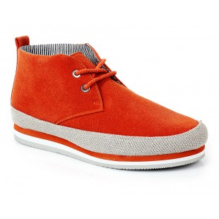 New York Orange Stylish Casual Shoes SYB-799 price in Pakistan