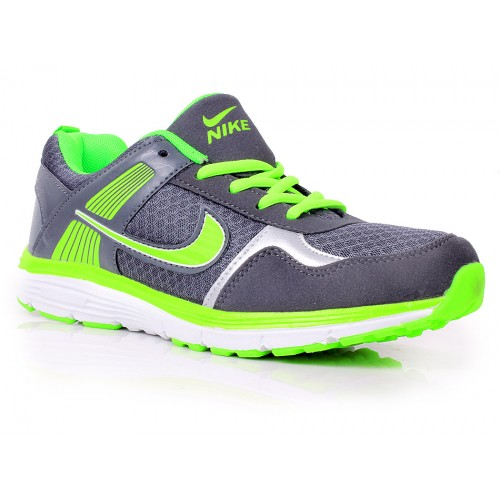 taille 40 d070e deeb3 Nike Hyperfuse Green & Grey Shoes SYB-788