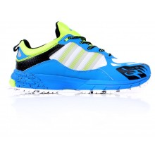 891198d64859c Adidas Fluton Ocean Blue   Green Sport Shoes SYB-859