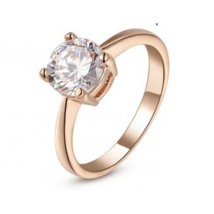 18k gold platted austria crystal ring price in Pakistan