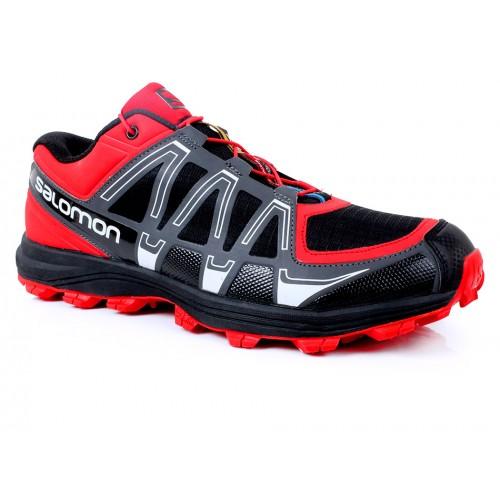 buy popular 50346 3066d Salomon Red & Black Sport Shoes SYB-865