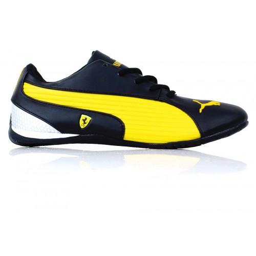 46dd9766d650d4 ... low cost puma ferrari yellow black casual shoes syb 1067 100d8 6276f