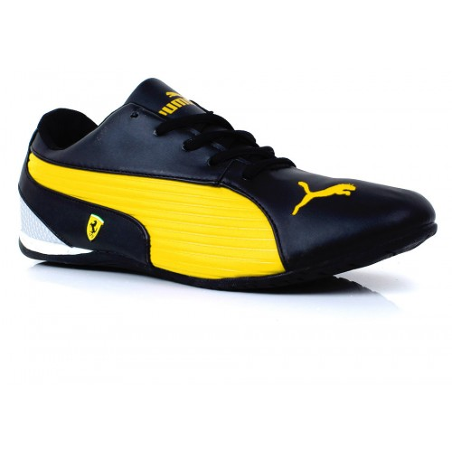 0d9c6fc89cb81a Puma Ferrari Yellow   Black Casual Shoes SYB-1067 price in Pakistan ...