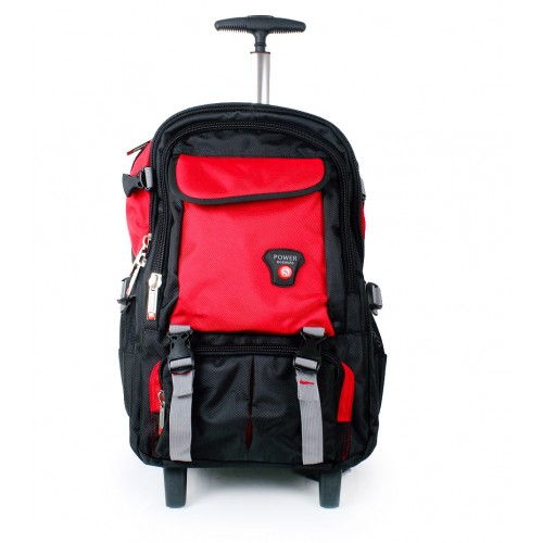22290b63a2bb Power In Eavas Trolley Backpack RED price in Pakistan at Symbios.PK
