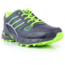 6dc7dc9ac45 Lancer Green   Grey Sport Shoes SYB-718