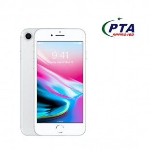 IPhone 8 64GB Silver Official Warranty  price in Pakistan