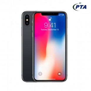 Apple IPhone X  64 GB Grey - Non Warranty Box Packed price in Pakistan