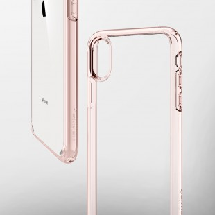 Spigen iPhone XS Max Case Ultra Hybrid Rose Crystal (Ver.2) 065CS25129 price in Pakistan