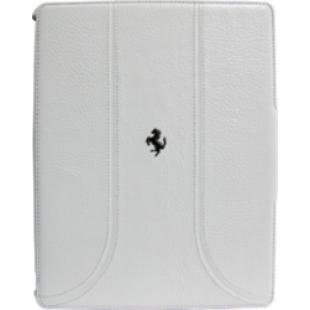 Ferrari Folio Case for iPad 2 & 3 Grain Leather White price in Pakistan