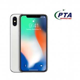 IPhone X 64 GB Silver Slightly Used price in Pakistan