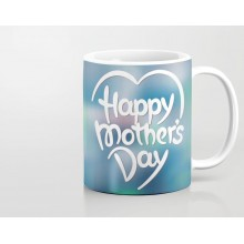 714d2cf7a3b Glowing Heart Art Happy Mothers Day Printed Mug MUGANY449