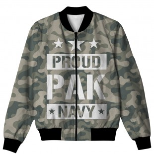 PROUD PAK NAVY ALL OVER PRINTED JACKET AO-JACKET-65 price in Pakistan