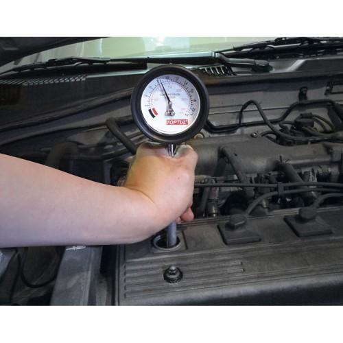 Image result for TopTul JGAI0402 Unique Compression Tester Kit - Petrol Engine