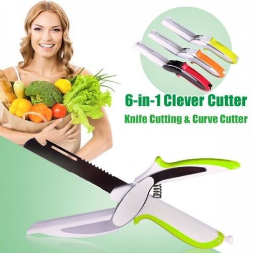 Clever Cutter 6 In 1 Knife