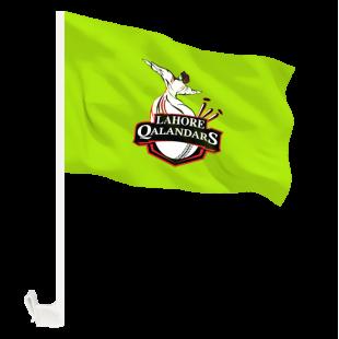 Lahore Qalandars Flag - Pakistan Super League with Holder Clip  price in Pakistan