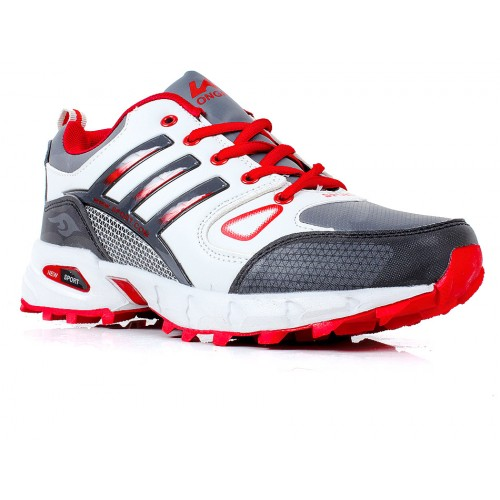 650e9b00ae3 Lancer Grey   Red Sport Shoes SYB-723 price in Pakistan at Symbios.PK