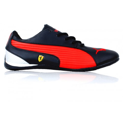 a095b62120602d Puma Ferrari Red   Black Casual Shoes SYB-974 price in Pakistan at ...