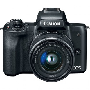 Canon EOS M50 Mirrorless Digital Camera with 15-45mm Lens (Black) price in Pakistan
