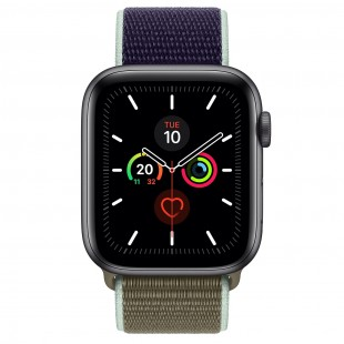 Apple iWatch Series 5 44mm - Titanium Case with Sports Loop GPS price in Pakistan