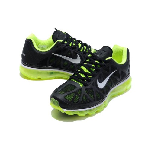 Air Max FITSOLE 2 Black & Green Sports Shoes SYB 828
