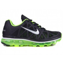 804c7debab5f1 Air Max FITSOLE 2 Black   Green Sports Shoes SYB - 828