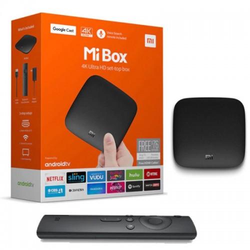 Xiaomi MI BOX Android TV 6 0 Smart TV Box Quad Core Set-top Box Media Player