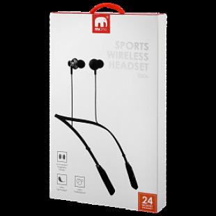 Mione Sweatproof Lightweight Sports Wireless Bluetooth Headset ES06 Black price in Pakistan
